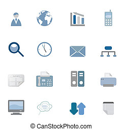 Business Icons Set - Business related symbols icon set