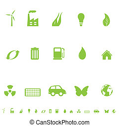 General Eco Symbols - Environmental and ecological symbols...