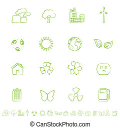 Ecological and Environmental Symbols