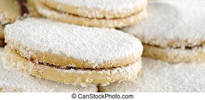 (very, Galletas, peruano, caramel-like, cima, superficial,...