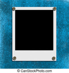 Instant empty picture frame