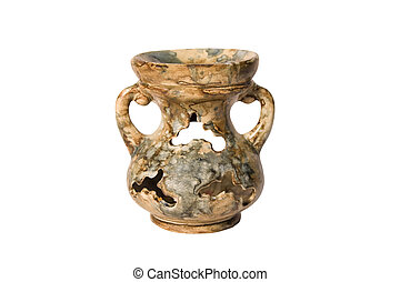 Amphora - Antique amphora on a white background