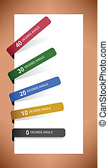 Tag Label Sticker Paper Shadow - A set of tag label sticker...