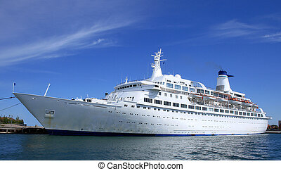 Big cruise liner for your designs