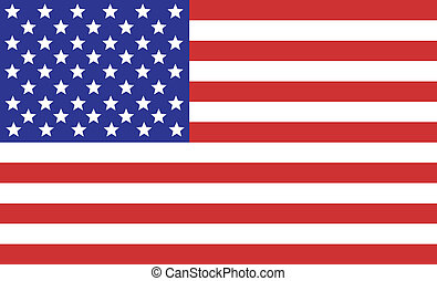 American Flag - American flag for the Fourth of July