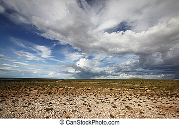 Storm is coming - Peron Peninsula, Shark Bay. Weather can be...