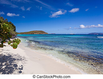 Hawksnest Bay on St John - Hawksnest Bay on the Caribbean...