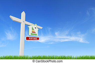 ecological for sale sign