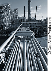 oil industry and pipelines - large oil industry and...