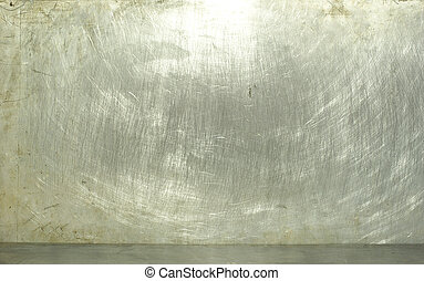 metal  - old grunge metal plate steel background