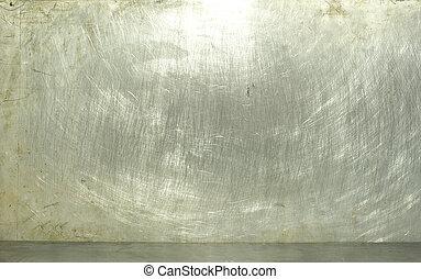 metal  - old grunge metal plate steel background