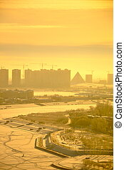 Astana Winter - Photo of Astana in winter taken from office...