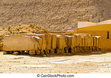 Stone blocks - Big stones material for pyramid...