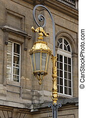 Old street lamp in Paris