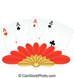 Four of a kind poker hand - Four of a kind winning poker...