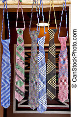 Traditional south african beads art