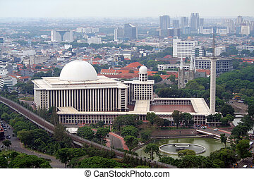 Istiqlal Mosque - Jakarta - The Istiqlal Mosque in Jakarta...