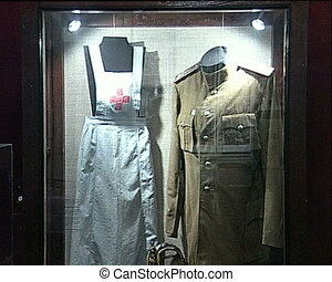 Personal belongings of the dead soldier