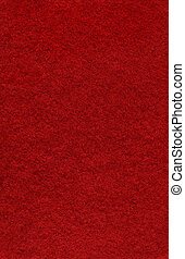 Red Felt Background - A textured red felt background made...