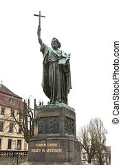Statue of Saint Bonifatius, Fulda, Germany - Statue of Saint...