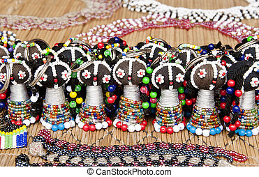 Traditional south african beads art hand made bracelets and...