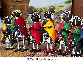 Traditional south african art souve - Traditional south...