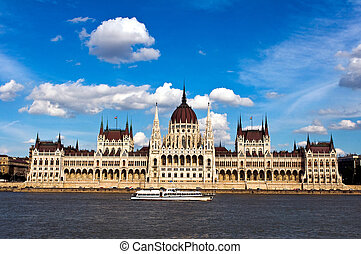 The Hungarian Parliament - The building of the Hungarian...