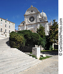 Cathedral of St James in Sibenik, Croatia