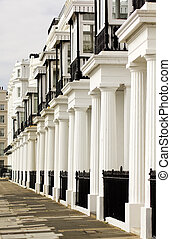 Edwardian Houses - Image showing a lovely row of edwardian...