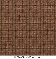 extra large 3d render of red brown