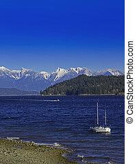 Snowy Coastal Mountains - Coastal mountains of the West...