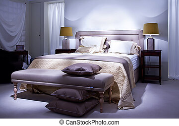 bed in classic style
