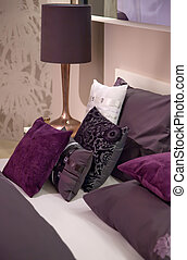 fabric in bed room