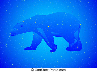 Constellation Ursa Major - Constellations of the night sky....