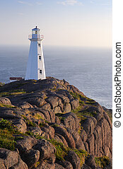 Newfoundland Lighthouse - Sunrise At The Newer Cape Spear...
