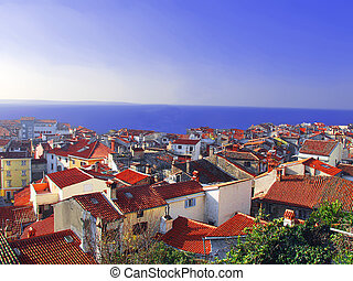 The Adriatic coast of Slovenia - Adriatic coast of Slovenia...