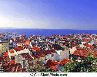 The Adriatic coast of Slovenia - Adriatic coast of Slovenia....