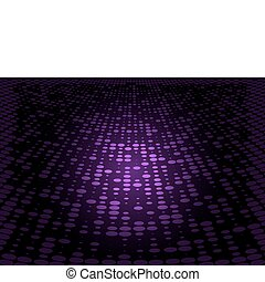 Purple vector doted floor