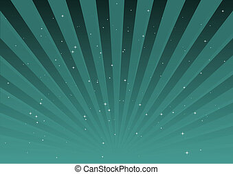 Blue vector striped background