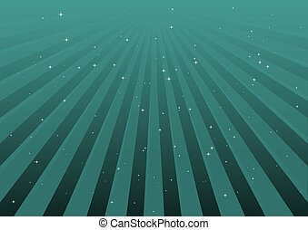 Blue vector striped illustration