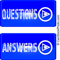 blue button questions answers