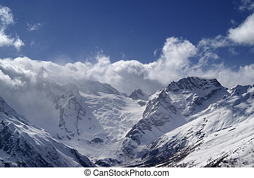 Caucasus Mountains. Dombay.