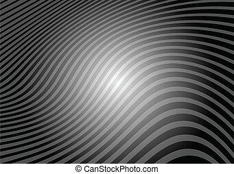 Vector striped bump