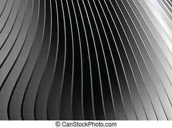 Background silver slide