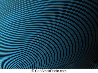 Curved blue background illustration