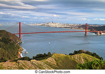 Golden Gate and San Francisco