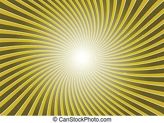 Circular vector stripes