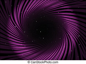 Pink circular stripes and stars