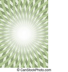 Green endless vector lines