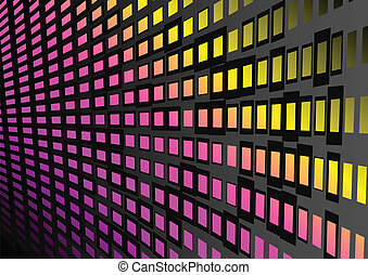 Background techno vector